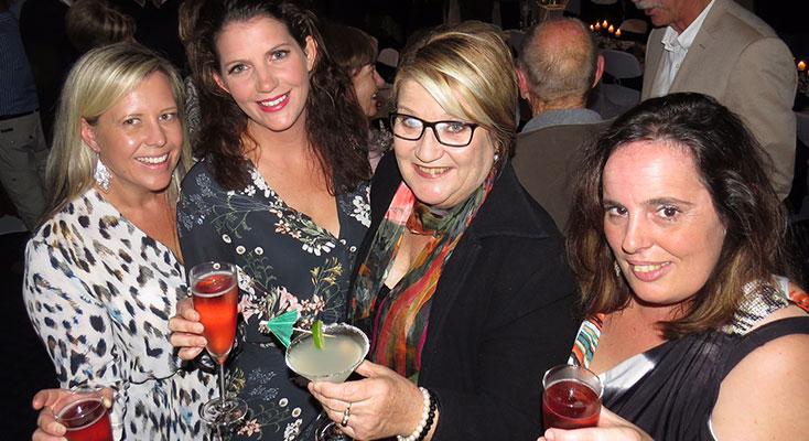 Skye Roberts, Lauren Gray, Kath Freihaut, Sharon Griffis.