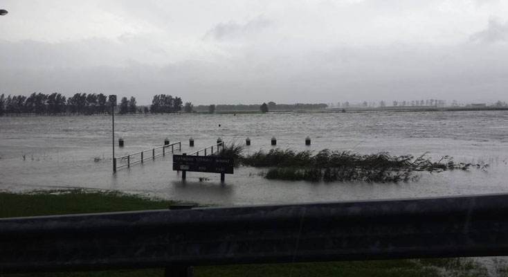 flood risks of properties across Port Stephens