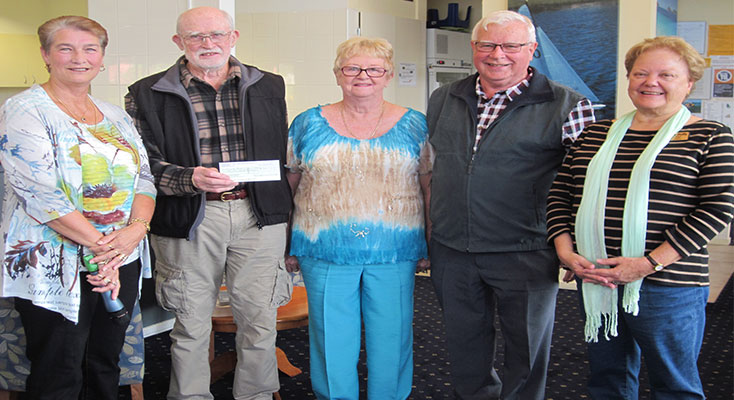 MEALS on Wheels and Clinic Bus receive donation