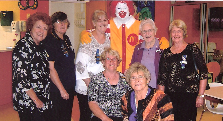 Some of the ladies from the Medowie branch of the Country Women's Association