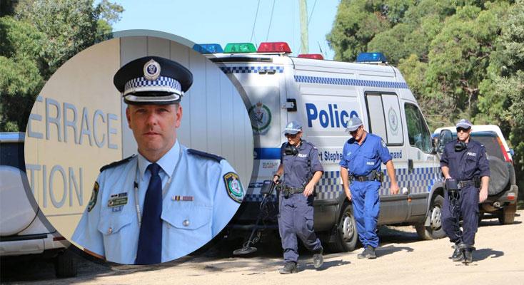 Port Stephens Police Commander Mr Craner