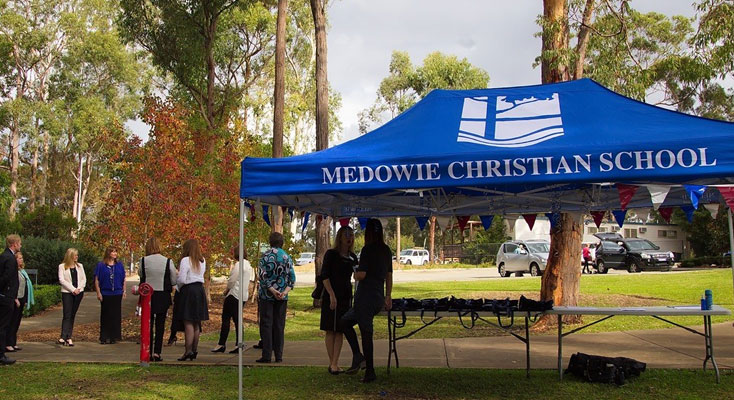 Preparing to welcome the community: Medowie Christian School Open Day