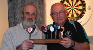 Robert Bartlett and Gene McKenzie, runners up on this occasion