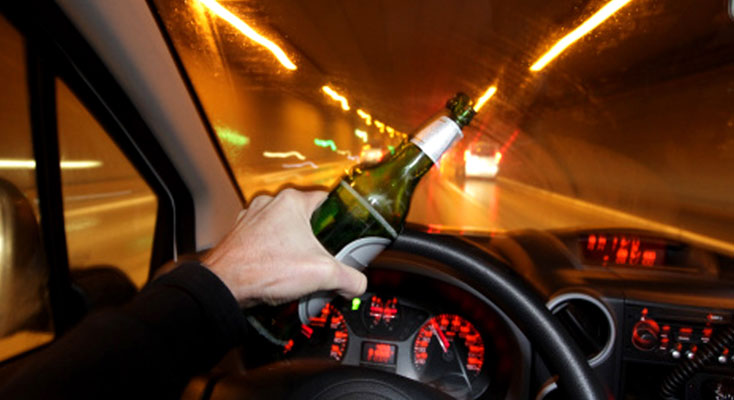 The danger of driving drunk