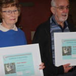 Couple congratulated on life membership for Myall Koala and Enviroment Group