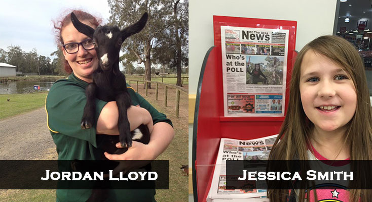 To enter, just take a photo of You, with Your Pet, and a copy of the News Of The Area.