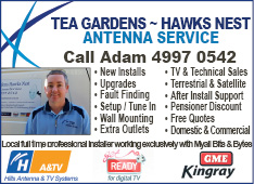 Tea Gardens Hawks Nest Antenna Services