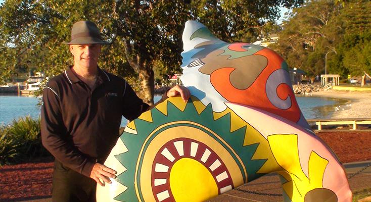 Matt Johnstone from Atlantis Port Stephens.
