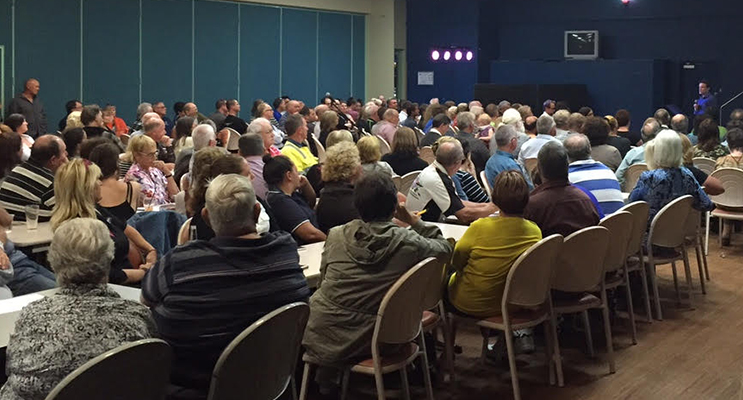 The last community meeting held by Williamtown and Surrounds Action Group