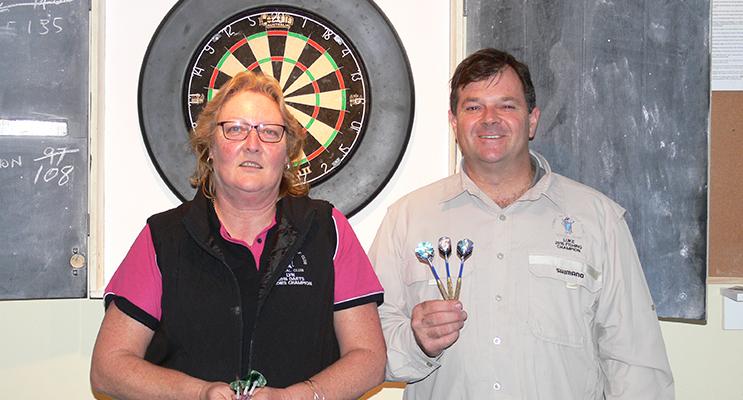 Lyn Peirson and Luke Boyd.
