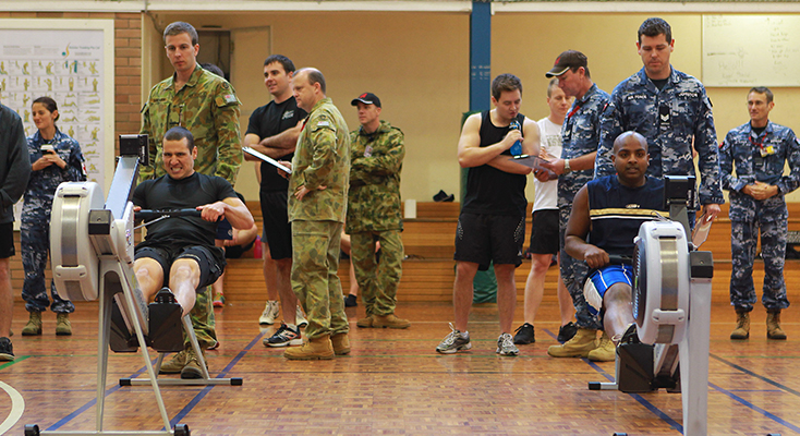 Participants at the 2015 Workout Warrior eventCommonwealth of Australia, Department of Defence