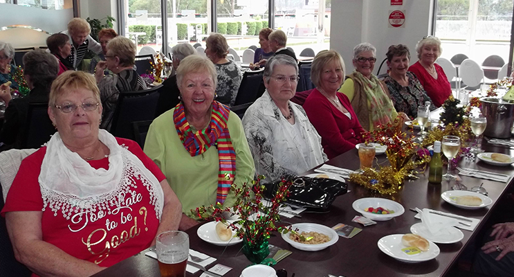 Wendy Jones, Pam Gilchrist, Frances Betar, Kathy Stone, Lily Smith, Lesley Kibble and Kathie Rimmer.
