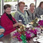 Tea Gardens Women's bowlers celebrate Christmas in July