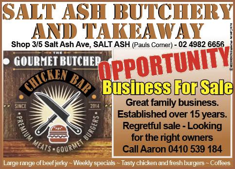Salt Ash Butchery & Take Away