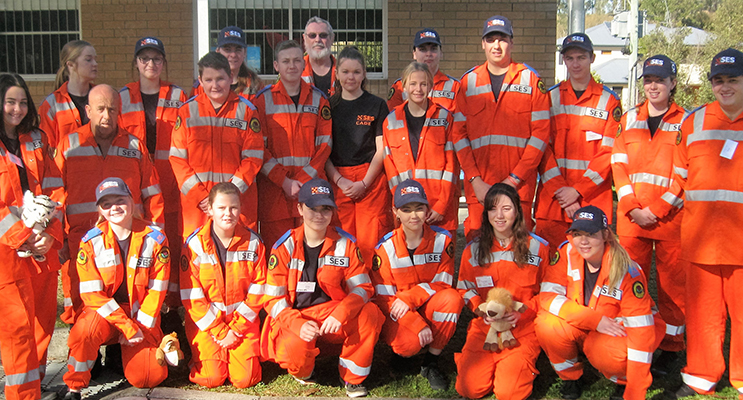 EMERGENCY SERVICES: SES Cadets participated in a week long training course.