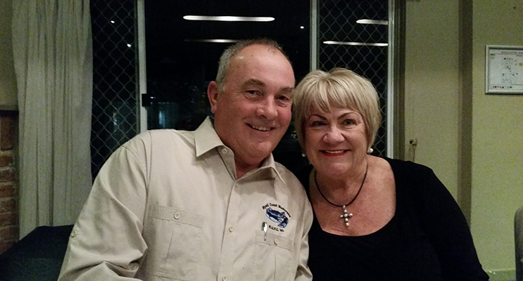 Geoff and Ann Scully.