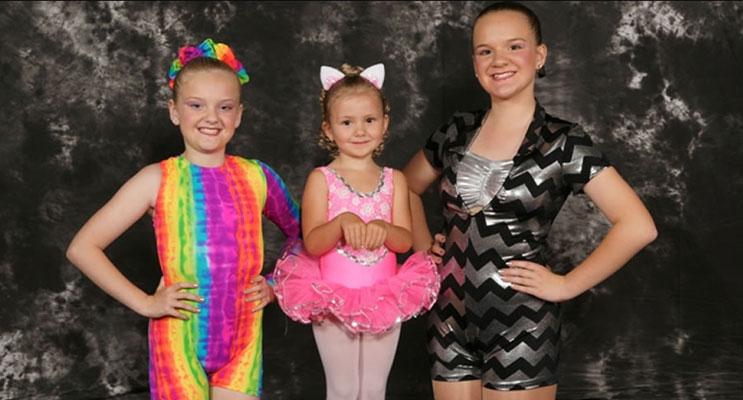 Students of the Dance 'n Dazzle dance school