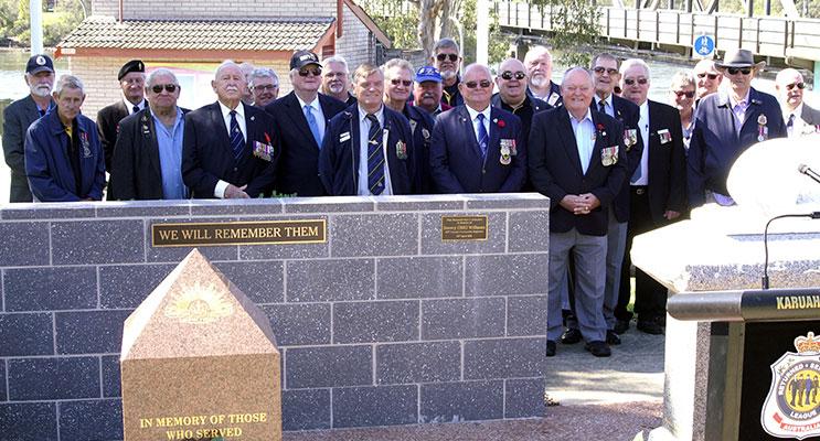 Karuah Memorial Service, Photo Jack Drake