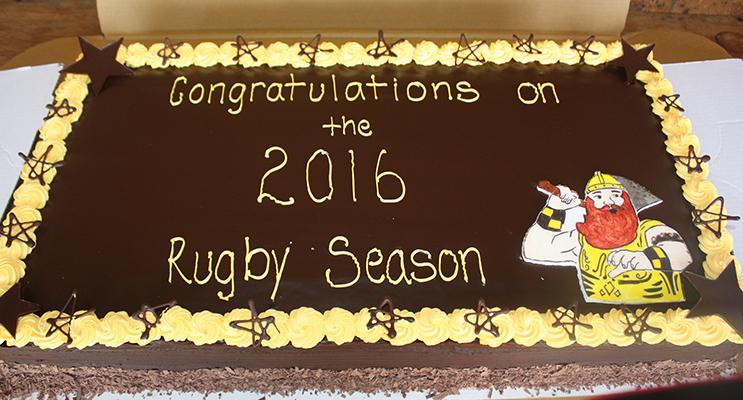 2016 Club Cake