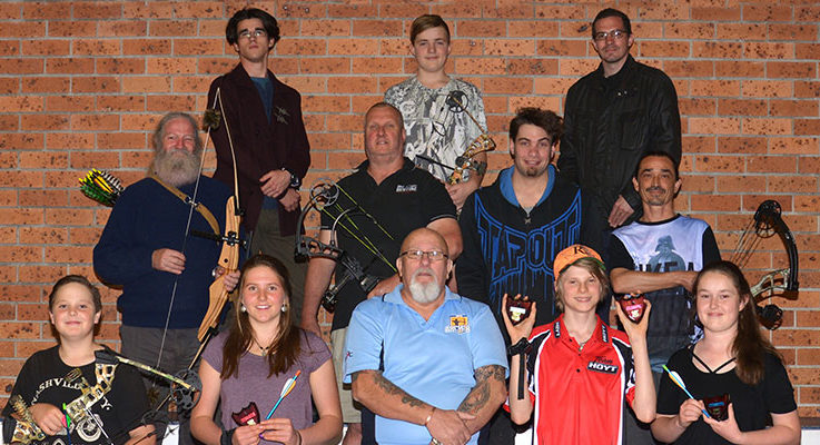 Archery, Nelson Bay, Medowie, Archery, PCYC, trophy presentation