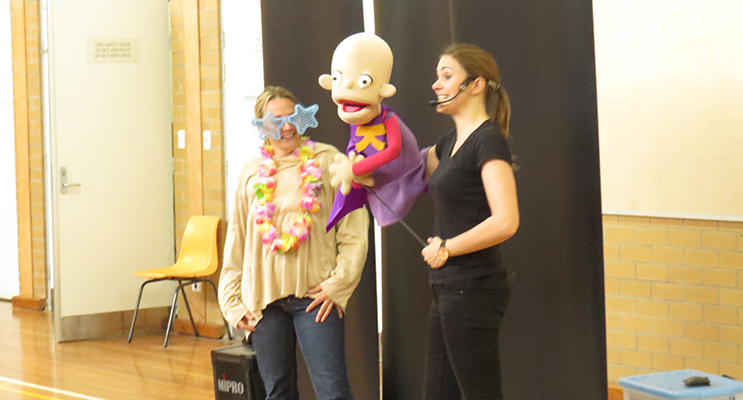 CAMP QUALITY: Puppet show explains what it's like to be a kid living with cancer.