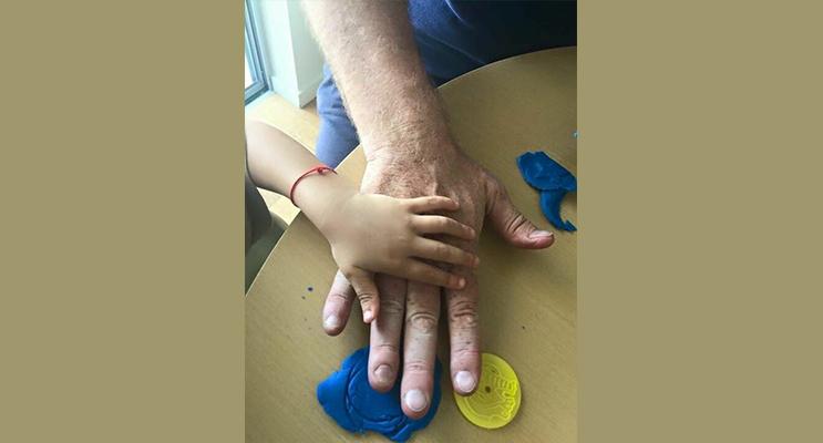 : Like Father like Son (Photo courtesy Jewell Drury)