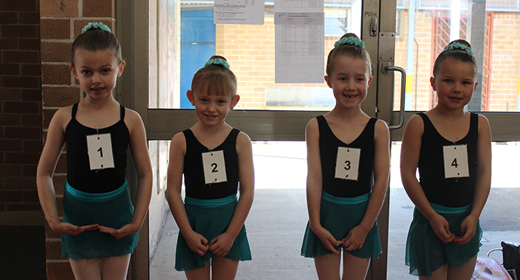 Test 2 Classical Ballet – Olivia Adams , Sienna Watson , Keira Horder and Lyric Pepperall.