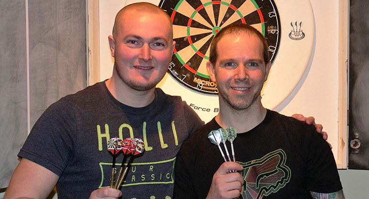 Paul Bennett and Michael Russom.