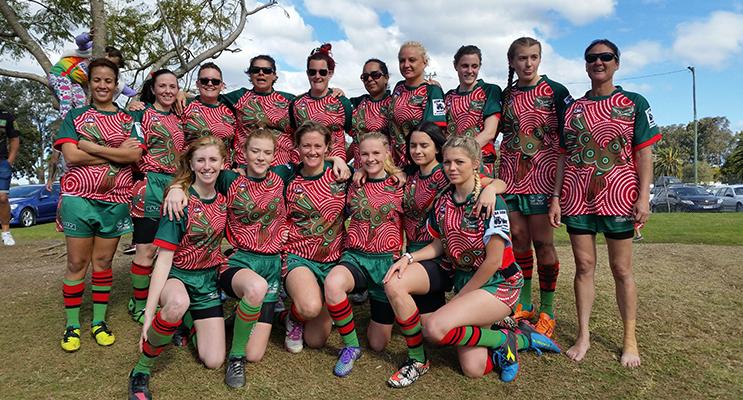 OZTAG: Lady Hawks Finals Team