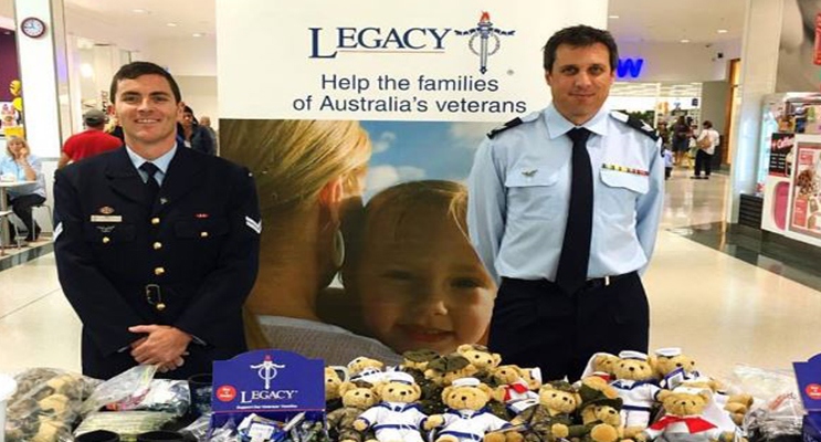 Legacy representatives collecting at Marketplace Raymond Terrace.