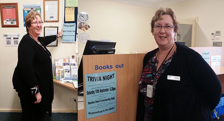 Carol Johnson, Tea Gardens Librarian