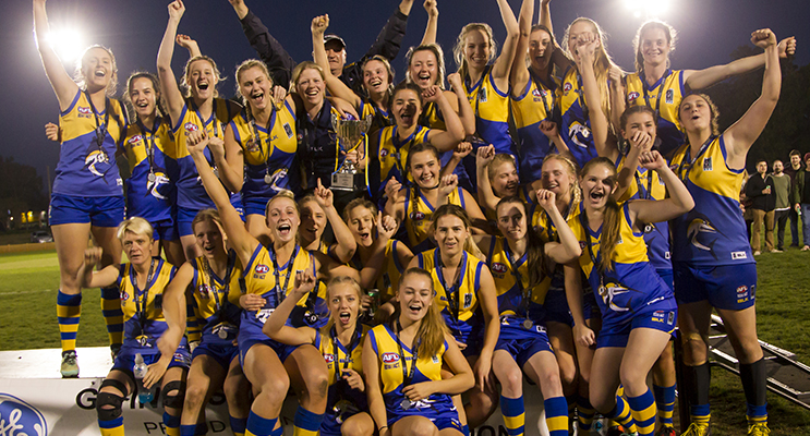 Nelson Bay Marlins Women's Grand Final Winners (photo courtesy of Elite Sports Images)
