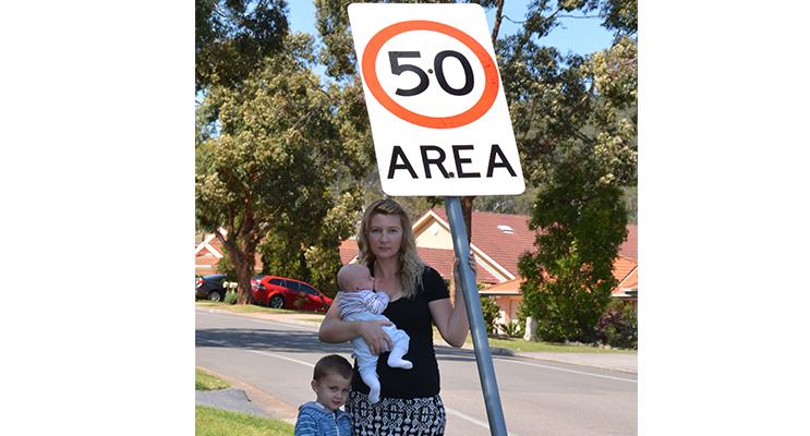 Heidi Rhodes, mum of three. Kids safety is paramount.