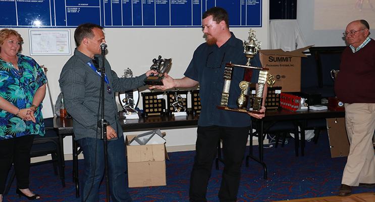 William Evans, Clubman Award. Photo Sharon Wedd