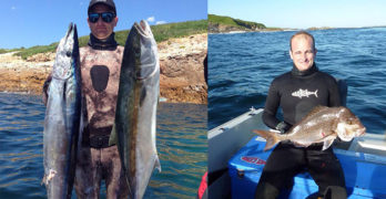 Port Stephens spearfishing with many great locations