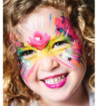 Well known face painter Judi Walker brings smile to Nelson Bay faces