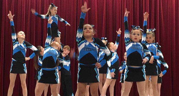 iDance performance Co. dancers