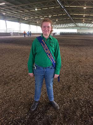 First place getter, Rachael Godfrey