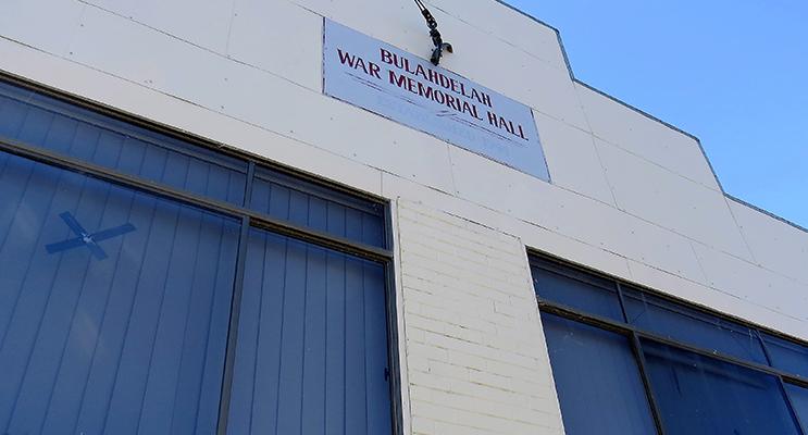 VANDALISM: Bulahdelah RSL Hall.