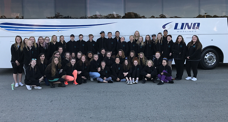 CAPA students as they embarked on their trip