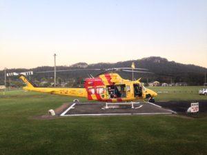Westpac rescue at Bulahdelah