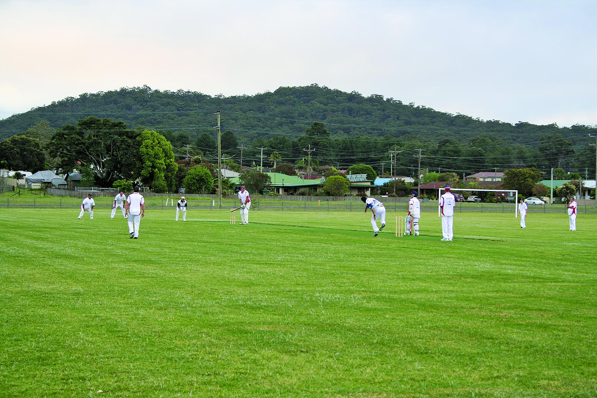 Bulahdelah Cricket Team play against Old Bar