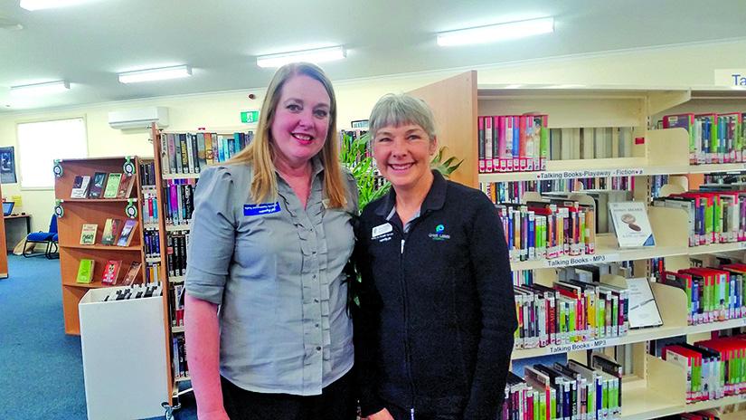 AGEING SERVICES TEAM: Christine Ellis & Dana Rederis.