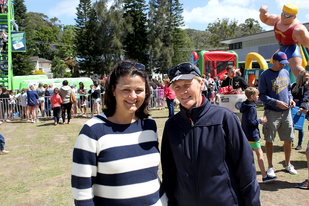 Sheree Gibson Fair co-ordinator and  Helen Bourne School Principal were happy with the success of the day. Photo Jewell Drury
