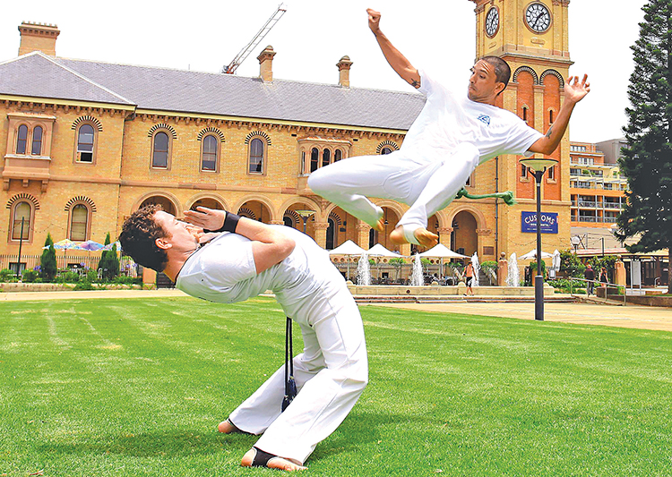 Demonstrations from a variety of groups including Newcastle Capoeira Aruanda will entertain visitors