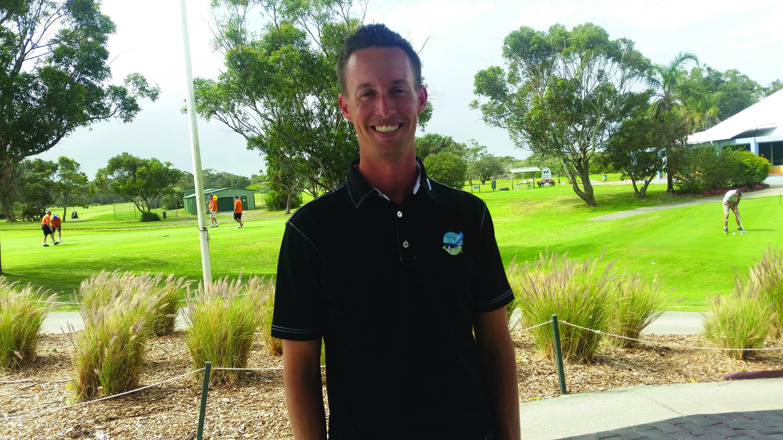 HAWKS NEST: Pro Golfer Andrew McCormack