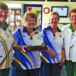 Tea Gardens Women's Bowls weekly results