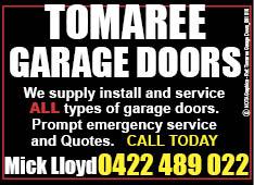 Tomaree Garage Doors