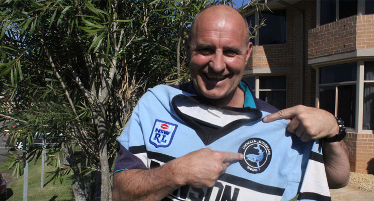 Dean Carney, a former Cronulla Sharks player - Cronulla's win is good for the game. Photo Jewell Drury