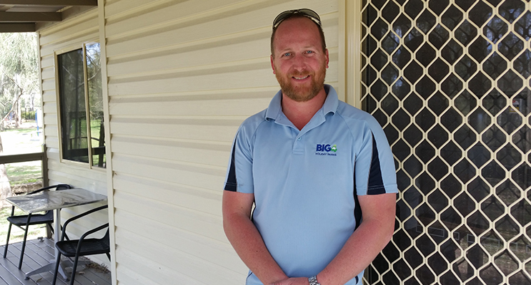 Michael Driver, Manager, BIG4 Karuah Jetty Holiday Park.
